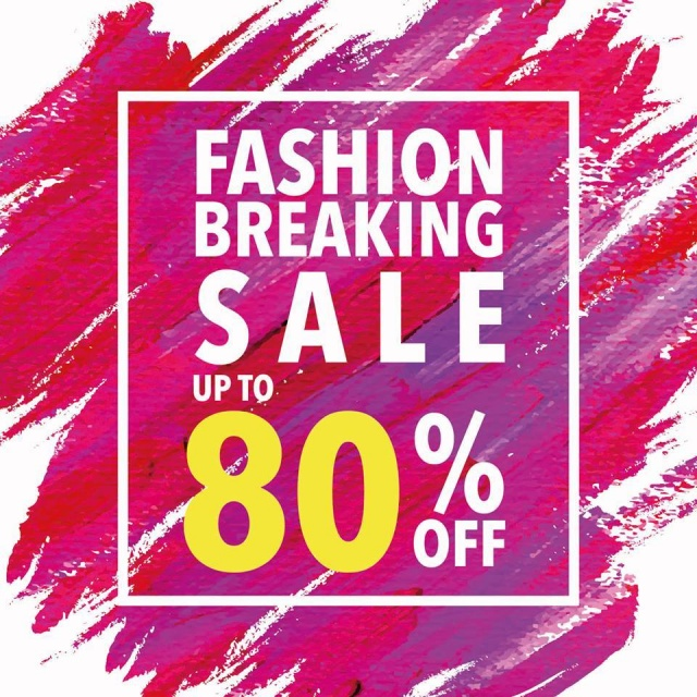 CMG Fashion Breaking Sale