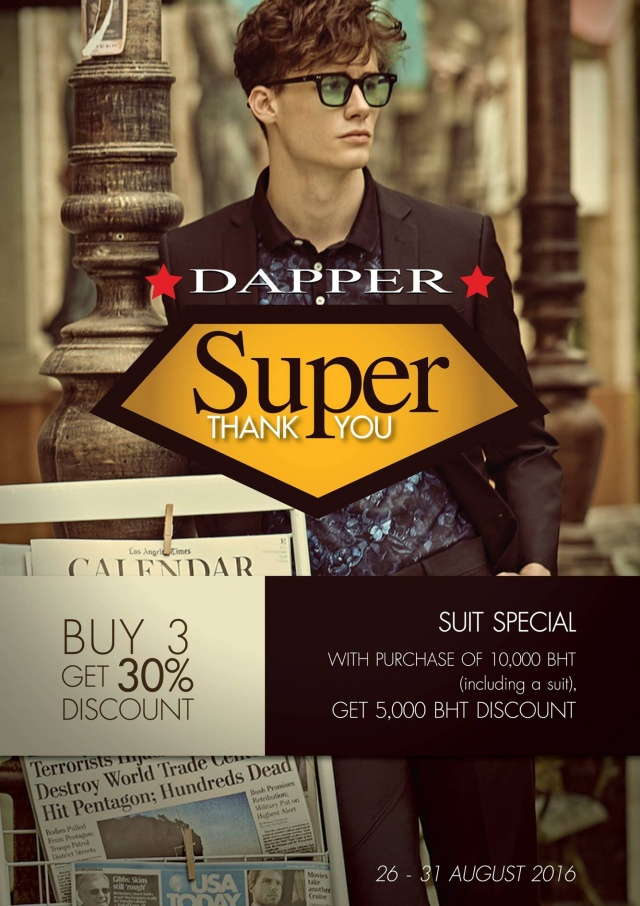 DAPPER SUPER Thank you