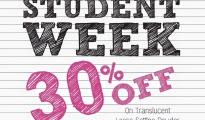 Laura Mercier Student Week