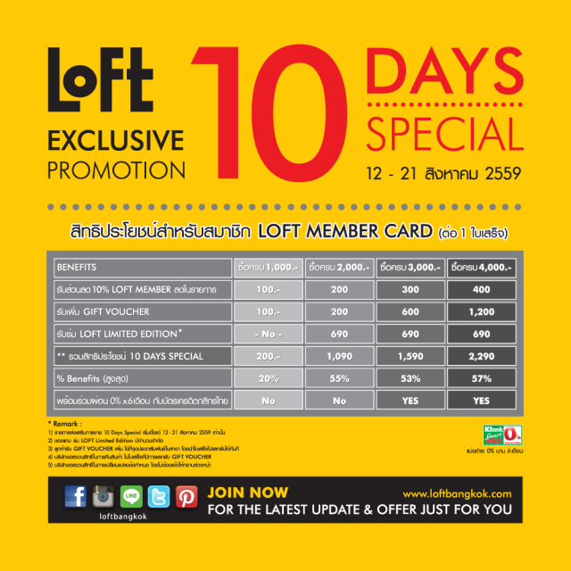 "Loft "" 10 Days Special"" 1"