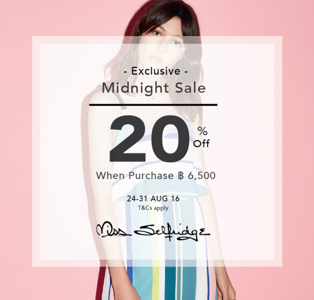 Miss Selfridge Exclusive Midnight Sale