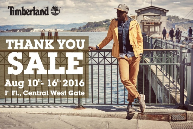 Timberland Thank you Sale