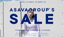 Asavagroup's Sale