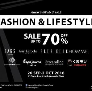 Fashion & Lifestyle Sale