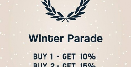 """Fred Perry """"Winter Parade"""""""