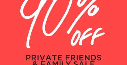 PP GROUP Private Friends and Family Sale