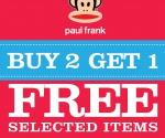 Paul Frank Buy 2 Get 1 Free