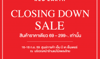 Red Earth Closing Down Sale