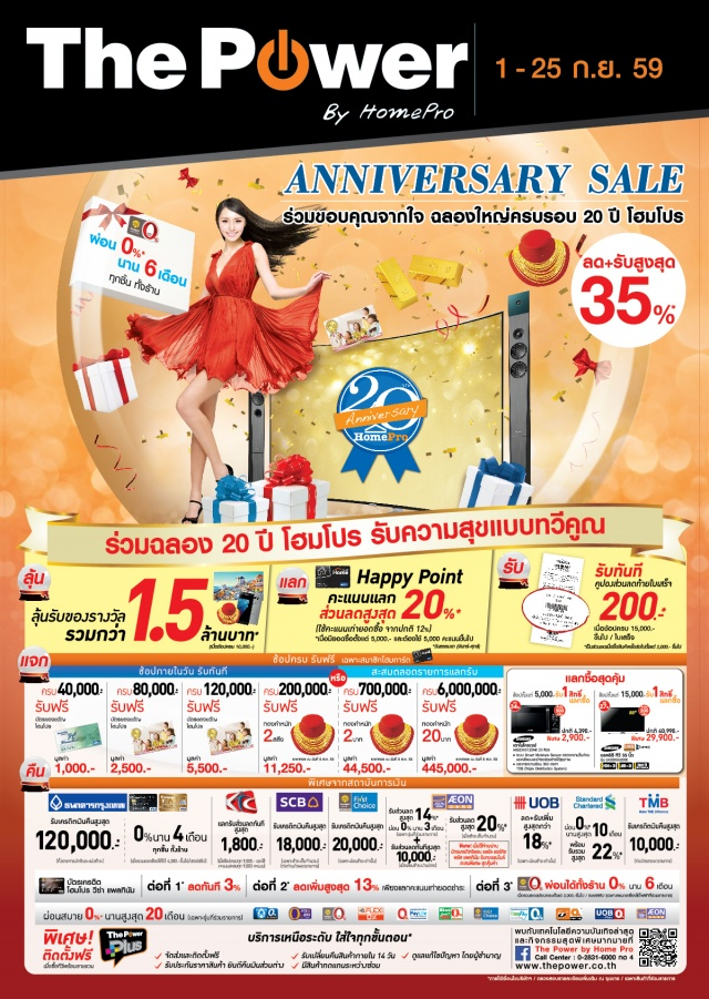The Power ANNIVERSARY SALE 1