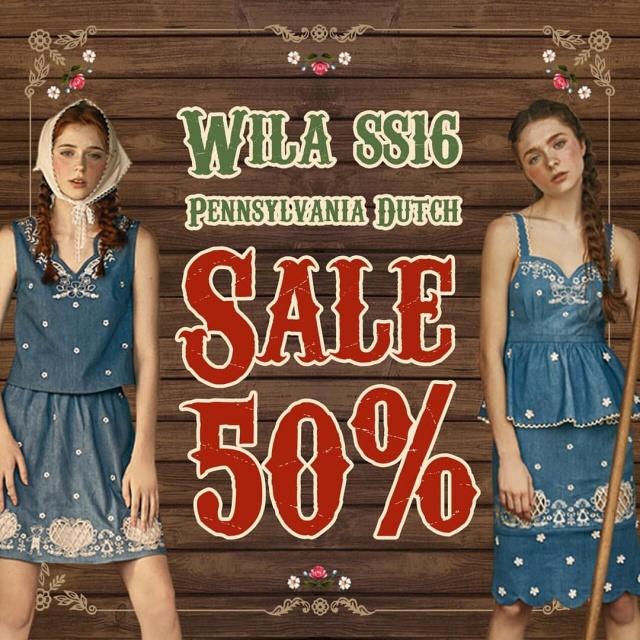 Wila SS16 SALE