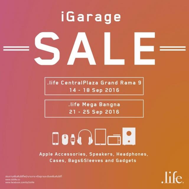 iGarage SALE 1
