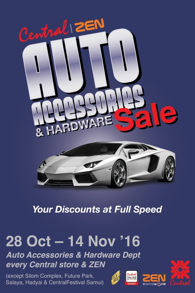 Central ZEN Auto Accessories & Hardware Sale