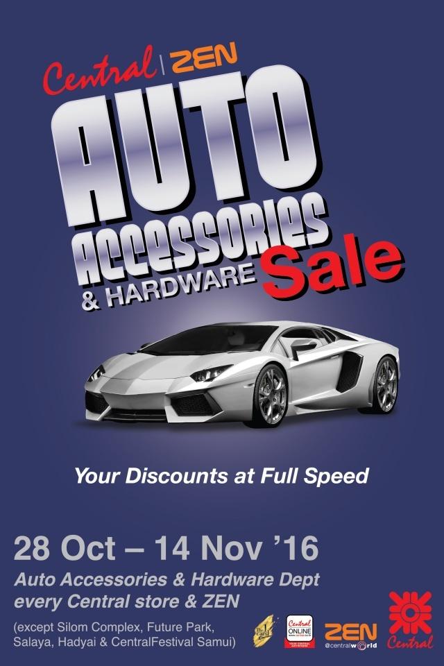 Central ZEN Auto Accessories & Hardware Sale