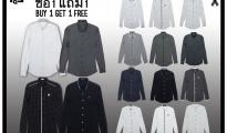 FQ&L FM Shirt Monotone collection