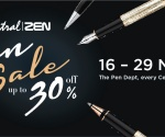 CENTRAL I ZEN PEN SALE 2016