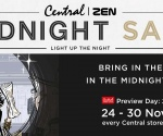 CENTRAL | ZEN MIDNIGHT SALE 2016