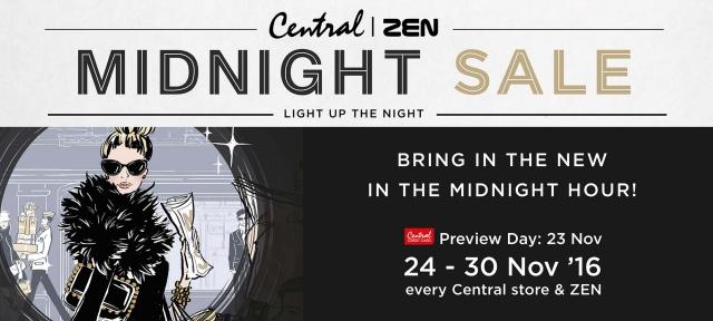 CENTRAL | ZEN MIDNIGHT SALE 2016