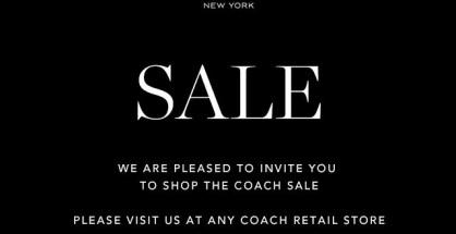COACH End of Season Sale