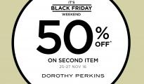 Dorothy Perkins Black Friday