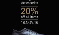 Fred Perry Footwear & Accessories Sale
