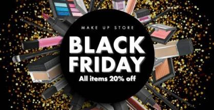Make Up Store Black Friday sale