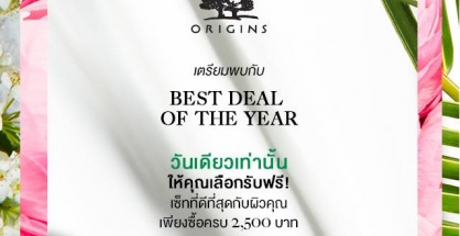 Origins %22Best Deal of the year%22