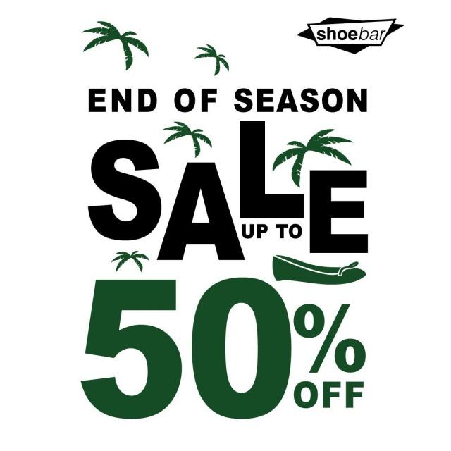 Shoe Bar End Of Season Sale