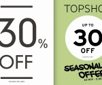 Topshop - Topman Seasonal Offer