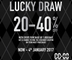 CC DOUBLE O %22LUCKY DRAW%22