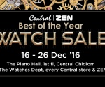 CENTRAL | ZEN BEST OF THE YEAR WATCH SALE