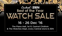 CENTRAL | ZEN BEST OF THE YEAR WATCH SALE