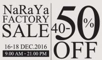 NaRaYa Factory Sale 2016
