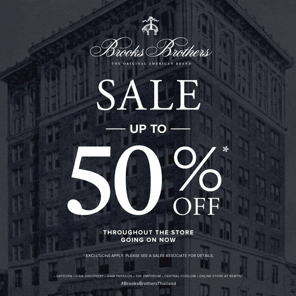 Brooks Brothers Spring 70% off Sale is now on with huge savings across all men, womens and childrens clothing! Shop today, it won't last forever! Shop today, it won't last forever! Start Date: 10/03/