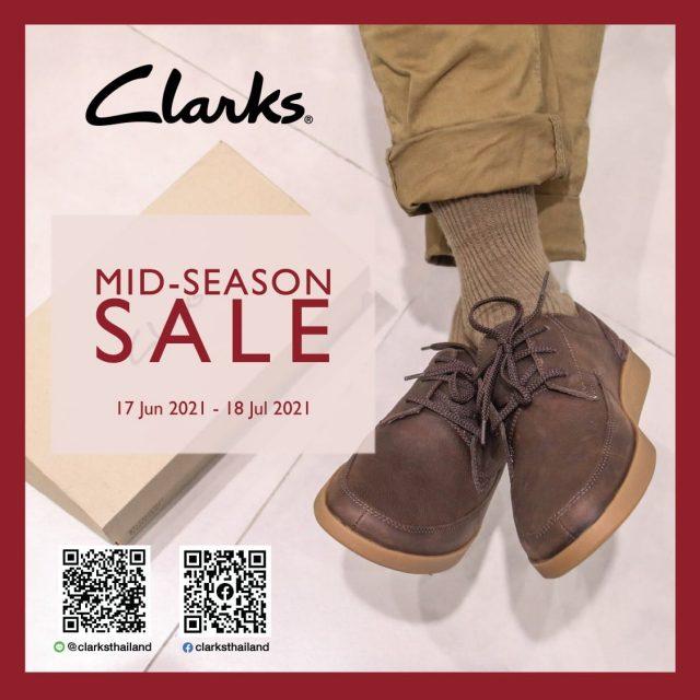 Clarks Welcome Back Sale ลดสูงสุด 30% (1 - 30 ก.ย. 2564)