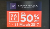 GAP & Banana Republic grand opening siam center