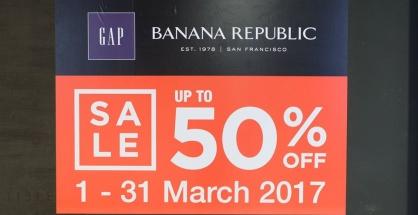 GAP & Banana Republic grand opening siam center