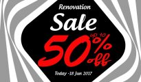 Footwork Noir Renovation Sale