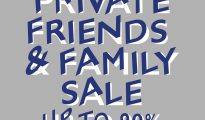 PP GROUP PRIVATE FRIENDS & FAMILY SALE