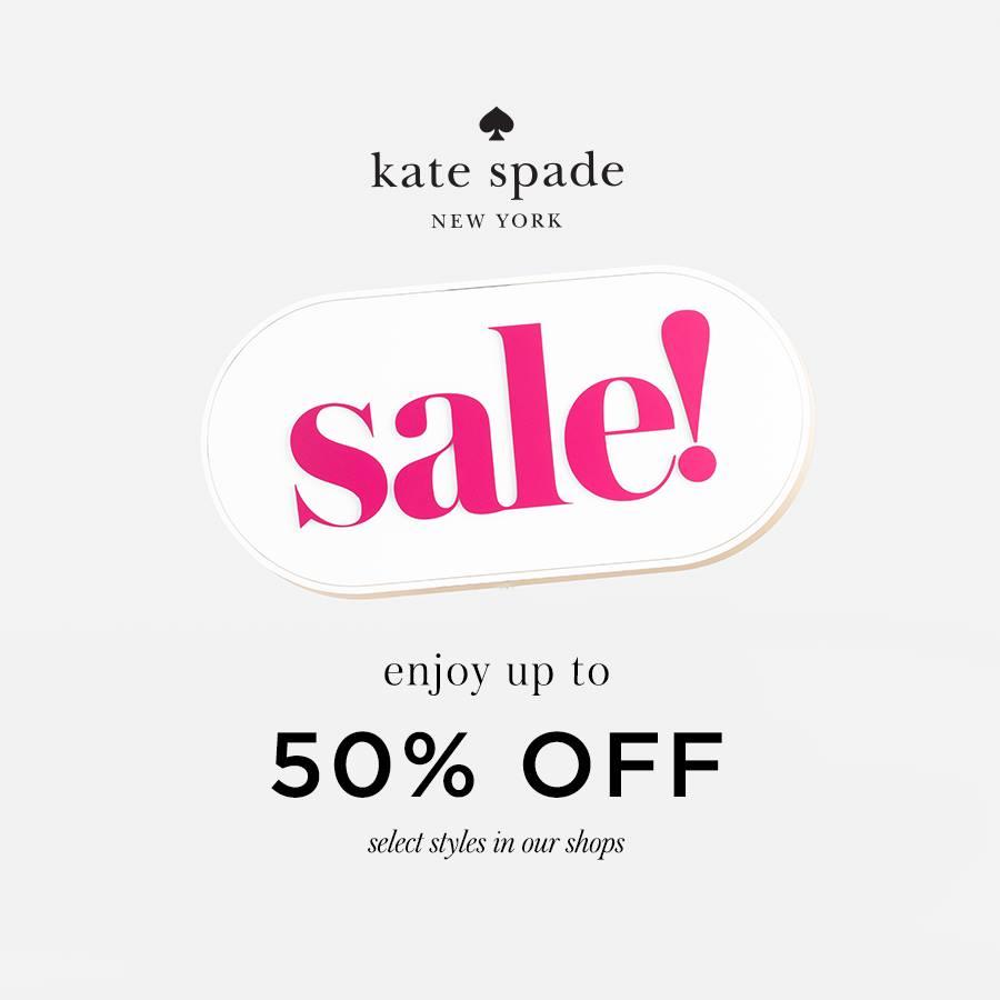 KATE SPADE - End of Season Sale!