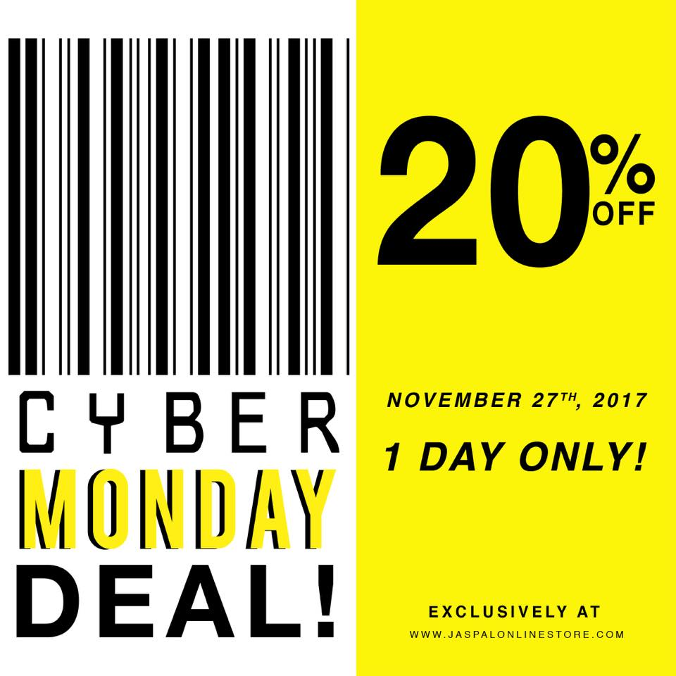 Jaspal CYBER MONDAY Deal