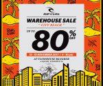 "RipCurl Warehouse Sale ""City Beach"""