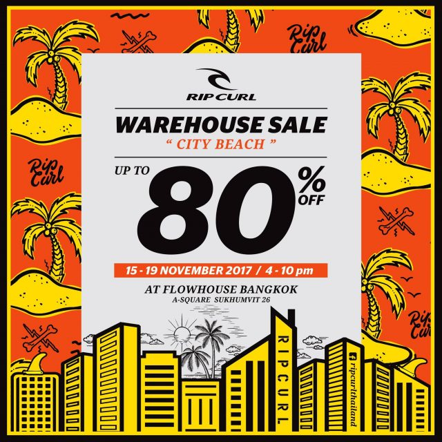 "RipCurl Warehouse Sale ""City Beach"""