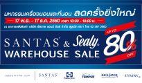 Santas & Sealy Warehouse Sale 2017