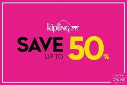 Kipling ลดสูงสุด 50% ที่เซ็นทรัล ออนไลน์ (18 – 28 ม.ค. 61)