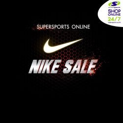 NIKE SALE ลดสูงสุด 50% ที่ Supersports Online (23 – 29 ม.ค.61)