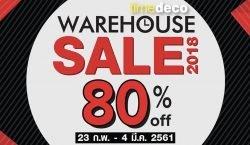 Time Deco Warehouse Sale 2018 ลดสูงสุด 80% (23 ก.พ. – 4 มี.ค. 2561)