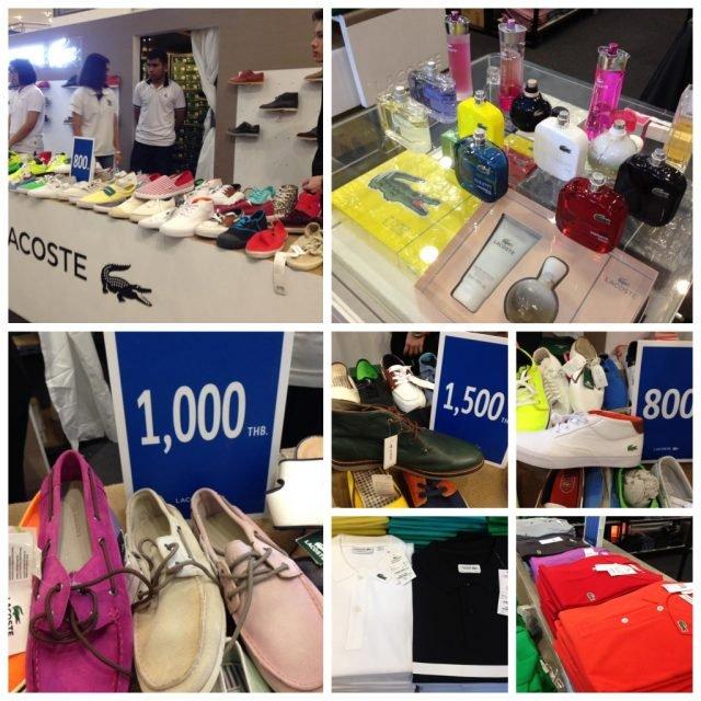 Lacoste Exclusive Sale งานเซล ลาคอส ที่ อัมรินทร์ พลาซ่า (25 มี.ค. - 2 เม.ย. 2563)