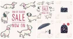 Cath Kidston End of Season Sale ลดสูงสุด 50% (เริ่ม 15 พ.ค. 2561)