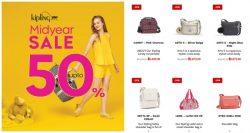 Kipling Mid Year Sale 2018 ลดสูงสุด 50% (23 พ.ค.- 15 ก.ค. 2561)
