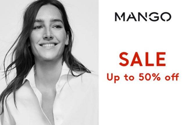 MANGO MID Season Sale ลดสูงสุด 50% (18 มี.ค. - 6 เม.ย. 2564)